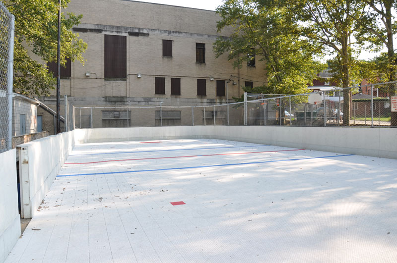 Deck Hockey Court