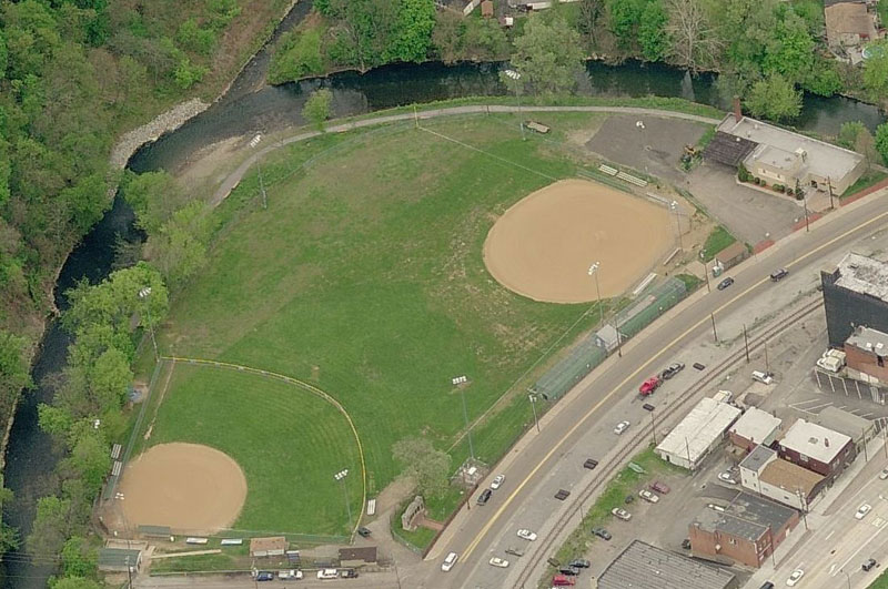 Dougherty Veteran's Field Aerial