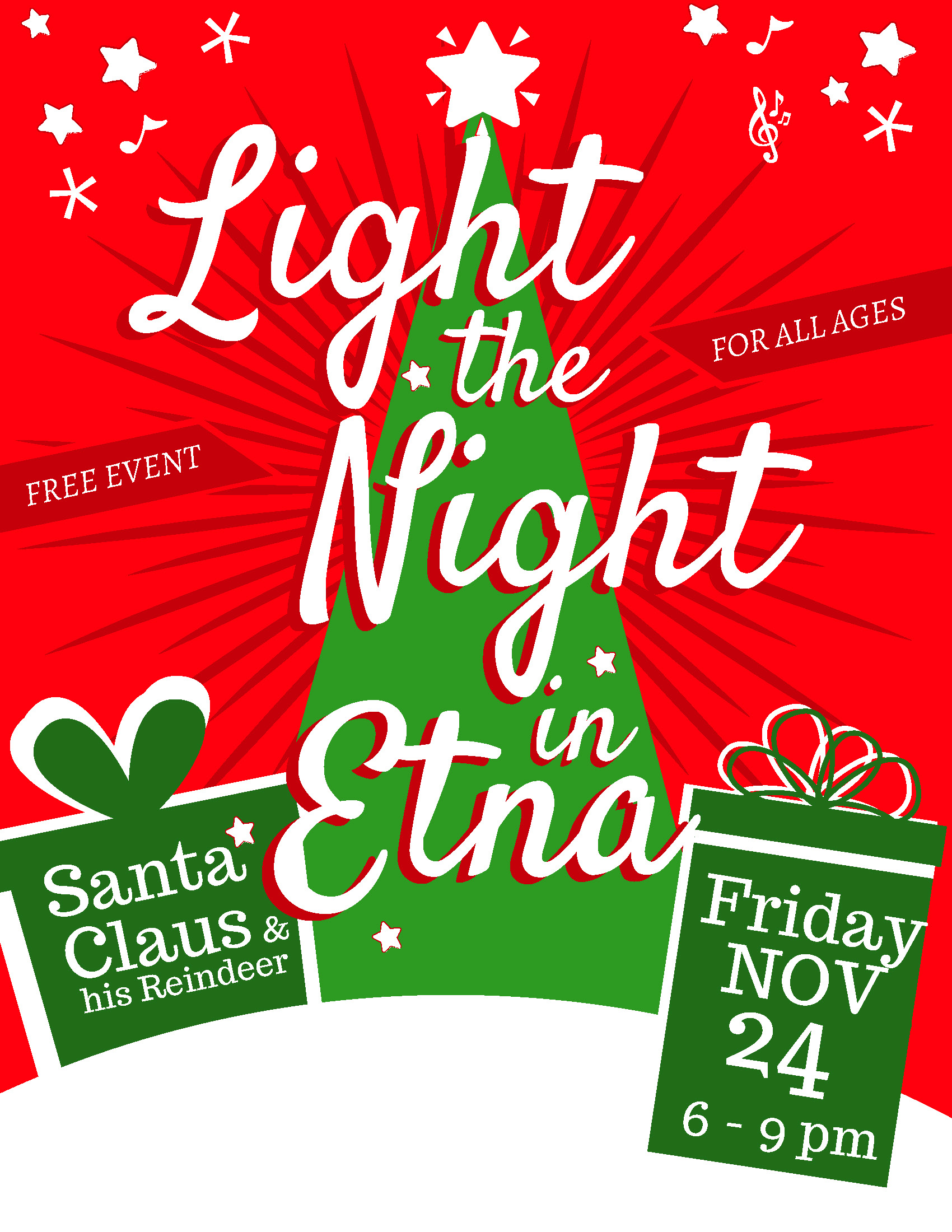 Light the Night in Etna!